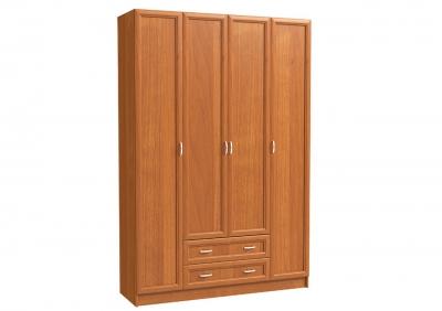 Шкаф 4х дверный с 2-мя бол. ящ.