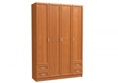 Шкаф 4х дверный с 2-мя мал. ящ.